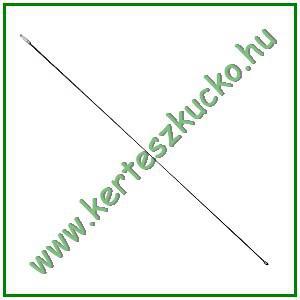 Kéménykotró rúd drótsörte fejhez (1 m)