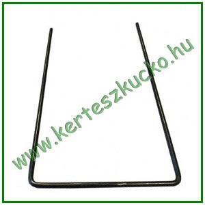"""Leszúrótüske fém, """"U"""" alakú, 8 x 15 cm"""