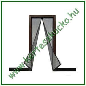 Mágneses szúnyogháló ajtóra (fekete, 215 x 95 cm)