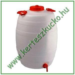 Műanyag demizson csappal 50 literes