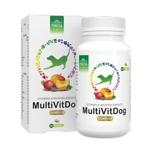 POKUSA - Multivitamin kutyáknak (120 db/doboz)
