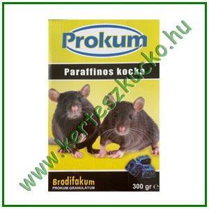 Prokum rágcsálóirtó paraffinos blokk 300gr