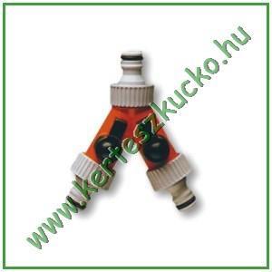Siroflex gyorscsatlakozó, 2 db elzáróval (4435/1)