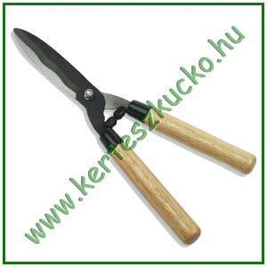 Sövényvágó olló (fa nyéllel)