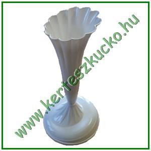Talpas virágtartó váza (fehér, 10 db/csomag)