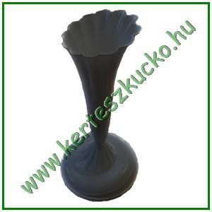 Talpas virágtartó váza (fekete, 10 db/csomag)