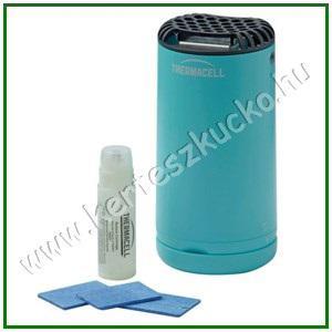 Thermacell asztali szúnyogriasztó készülék kék színben