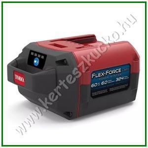 TORO FlexForce 60V 6.0 Ah Akkumulátor 324WH