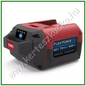 TORO FlexForce 60V 7.5 Ah Akkumulátor 405WH