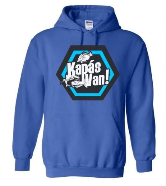 Férfi melegítő pulóver kék