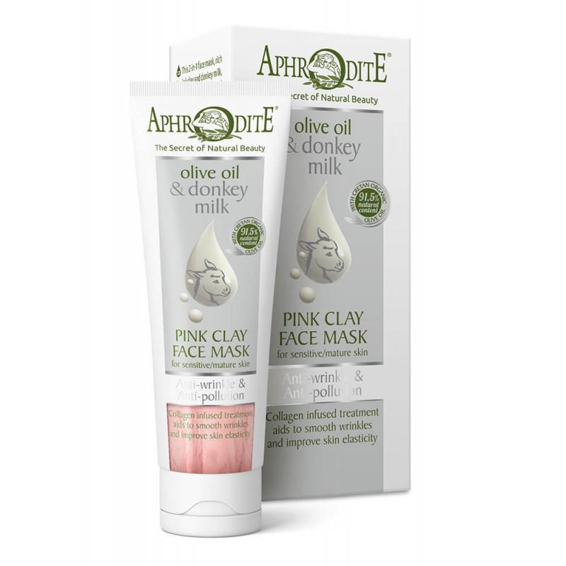 APHRODITE Anti-Pollution Ránctalanító rózsaszín agyag arcmaszk 75ml