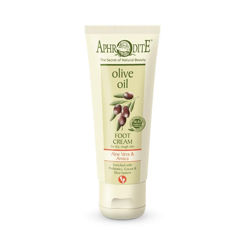 APHRODITE Extra lágy lábkrém aloe verával és prebiotikumokkal száraz, kemény bőrre 75ml