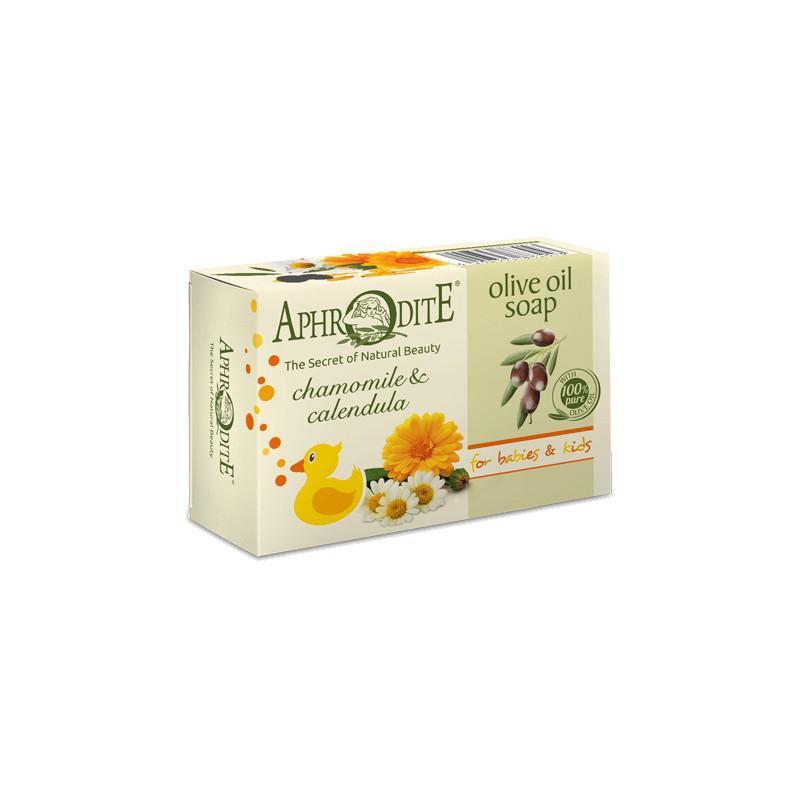 APHRODITE Olívaolaj szappan kamillával és körömvirággal 100g