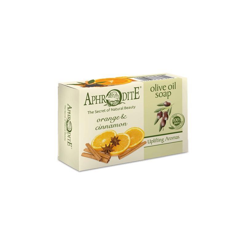 APHRODITE Olívaolaj szappan naranccsal és fahéjjal 100g