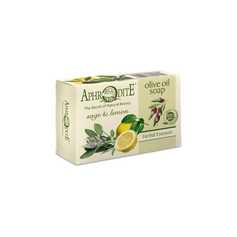 APHRODITE Olívaolajos szappan citrommal és zsályával 100g