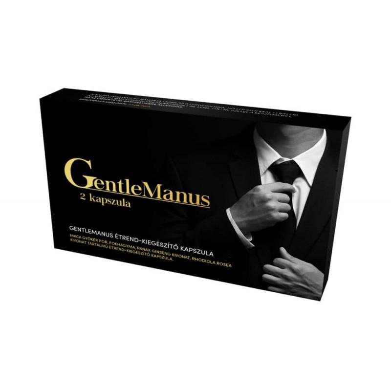 Gentlemanus - potencianövelő kapszula 2db
