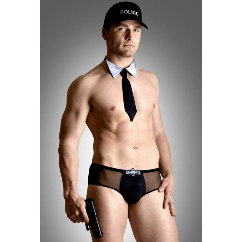 Policeman Set - black M/L