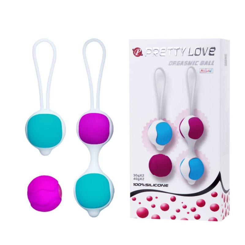 Pretty Love Kegel Balls - Gésagolyó